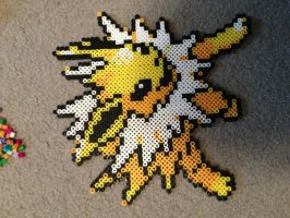 Jolteon from Pokemon (sideways, sorry) by Yohobojoe