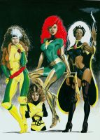 X-Women by Ken-Branch