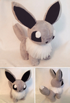 Shiny Eevee Plush by GlacideaDay