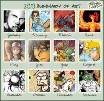 2010 Summary of Art by Patrick-Theater