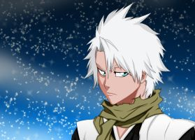 Hitsugaya Toushiro by Salty-art