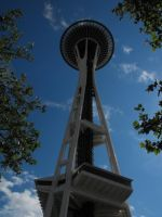 Seattle: Space Needle V by Photos-By-Michelle