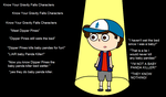 Know your stars GF parody: Meet Dipper Pines by ABtheButterfly
