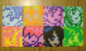 Perler Bead Character Select by missy-tannenbaum