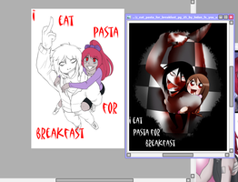 Page 25 redraw Wip by Chibi-Works