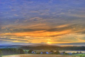 Summer Sunrise, Auchencairn by Okavanga