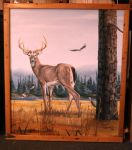 Deer at the waters by TWStatonGallery