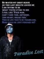 Johnny 3 Tears Poster by mad4medusa89
