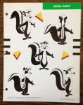 Pepe Le Pew Rotations by guibor