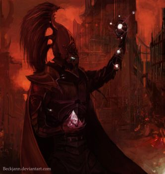 Dark Eldar: Soul Trap by Beckjann