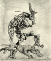 War Machine by DarkPsychosis