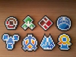 Sinnoh Badges by DisasterExe