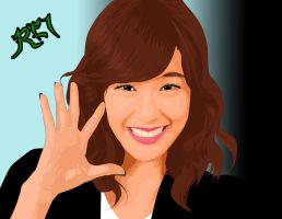 tiffany of SNSD by reieguiang
