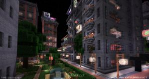 Aurora City Project [Minecraft] [04] by NickPolyarush