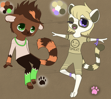 Anthro adopts - CLOSED by Ivon-adopts