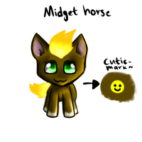 MIDGET HORSE by CooI