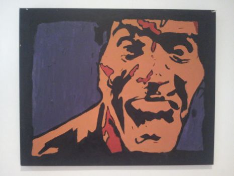 Screaming Bruce by keith-in-the-artshed