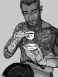 CM PUNK by anubis-servantALI