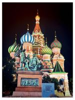 R-Photo. XX Cathedral of Vasily the Blessed by demeters