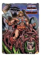 He-Man - From the Vaults of Grayskull by Simon-Williams-Art