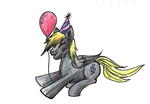 ATG Day 14: Party Harty Derpy by KyuubiNight