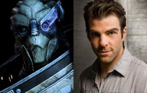 Mass Effect Fan Cast #4: Zachary Quinto as Garrus by ImWithStoopid13