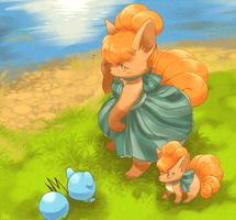 Vulpixies by Yajuuu