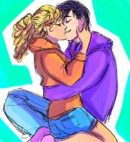 Percabeth by pebbled