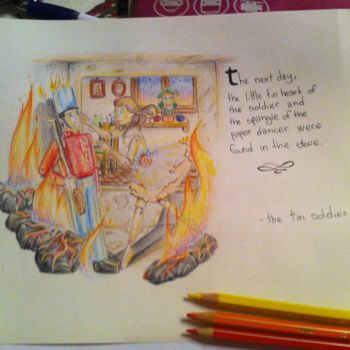 The tin soldier by Lightsoul-96
