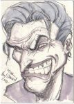 The Joker! (Sketch Card) by MikeVanOrden