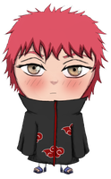 """I am not cute"" Sasori by LollyLov3"