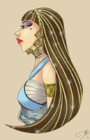Cleo De Nile by HuntingDaphne