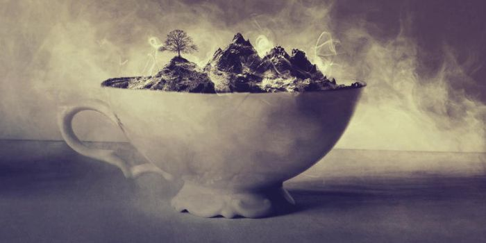 A Landscape in a teacup by UntamedUnwanted
