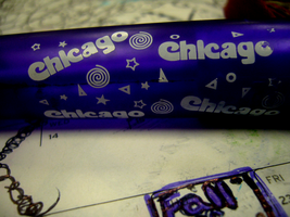 chicago pen by herheartthrobs