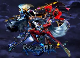 Bayonetta2  Love is All  wallpaper by EvilMaybe