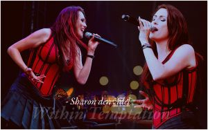 Wallpaper Sharon den Adel by ObsessionSweet