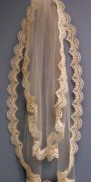 Antique-Look Lace Veil by BenaeQuee