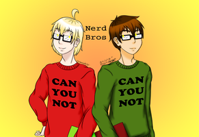 Nerd Bros (Can You Not) by Poptart2Belinda
