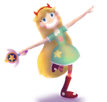 Princess Star Butterfly by Pistosaurius
