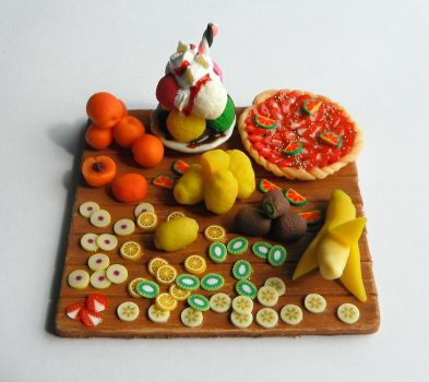 Plateau de fruits by natsynchro