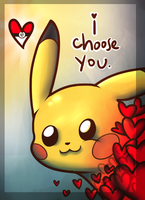 I choose you Valentine~ by Moon-DaZzLe