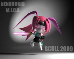 M.I.C.A. nendoroid ACTION by MARKCW