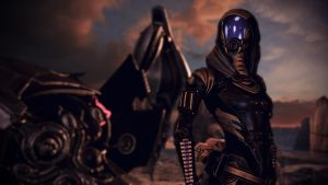 Tali'Zorah vas Normandy 11 by johntesh