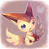 Victini by Effier-sxy