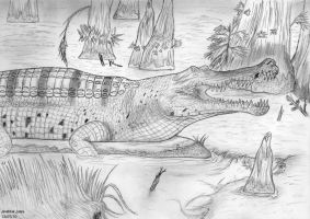 The Emperor Crocodile by Art-26
