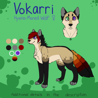 Vokarri Reference Sheet by catdoq