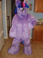 Twilight Sparkle fullsuit by ShaggyGriffon
