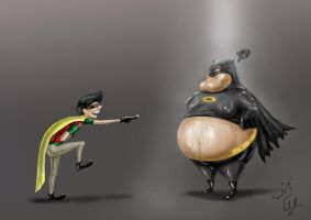 Batman and Robin by SUKING
