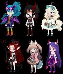OTA Angels And Demons selfy adopts (1 open) by i-am-a-fangirl