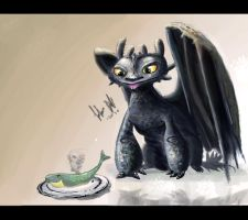 Toothless by Jalapenostark